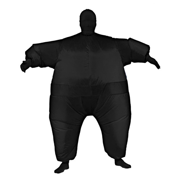 Black Infl8s Fat Suit