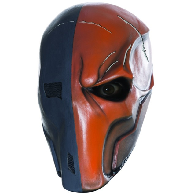 Deathstroke Adult Vinyl Mask Arrow Death Stroke DC Comics Batman Arkham