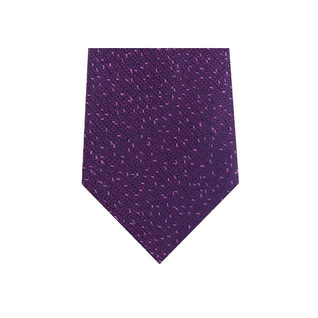 Calvin Klein Men's Slim Knit Silk Tie Red Size Regular