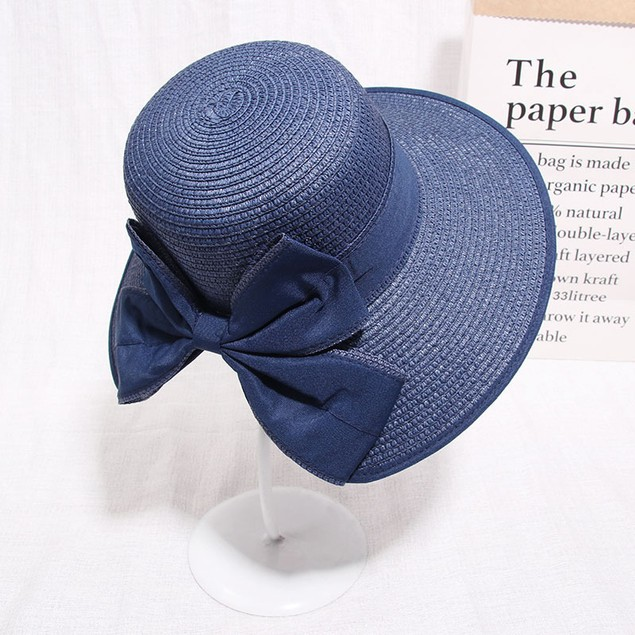 Simple And Versatile Sunscreen Straw Hat