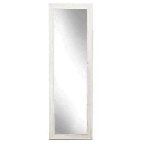 "BrandtWorks Perfect Coastal Whitewood Floor Mirror - 21"" x 70.5"""