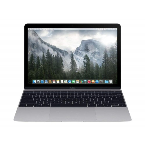 MacBook A1534 Intel Core M-5Y31 8GB, Gray (Refurbished)