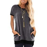Women's Slouchy Pocket Tee