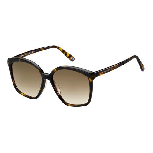 Tommy Hilfiger Women Sunglasses  TH1669S 086 Havana Gradient Brown 57 16 145