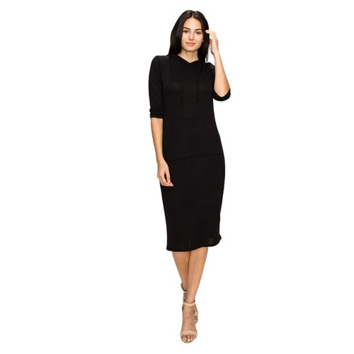 Women's Hoodie Pocket Dress