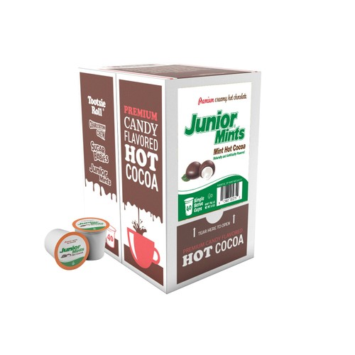 Junior Mints Chocolate Mint Hot Cocoa Pods for Keurig K-Cup Makers (40 Count)