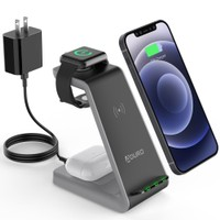 Deals on Aduro PowerUp Trinity Pro 3-in-1 Wireless Power Station