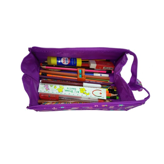 Smilykiddos Tray Pencil Case Purple