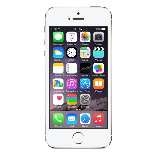 "Apple iPhone 5S 16GB 4"" 4G LTE GSM Unlocked,Gold(Refurbished)"