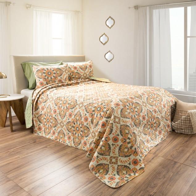 Lavish Home 2-Piece Printed Quilt Set