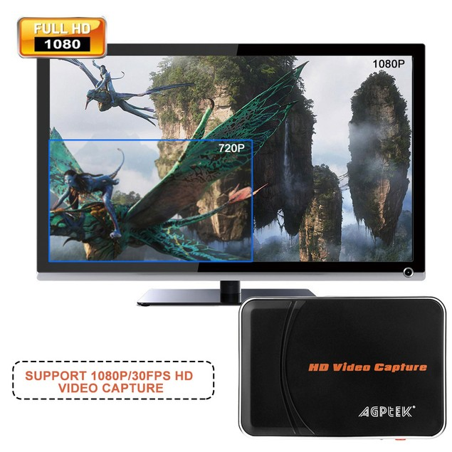 HD GAME CAPTURE VIDEO 1080P HDMI RECORDER  FOR XBOX 360 ONE PS3 PS4