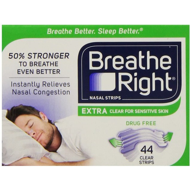 Breathe Right Nasal Strips Extra Tan, Help You Breathe Even Better, 8 Count