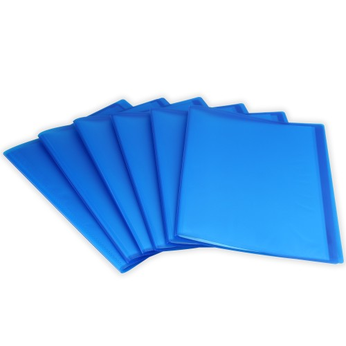 Set of 6 A4 Display Folder | Pukkr Blue
