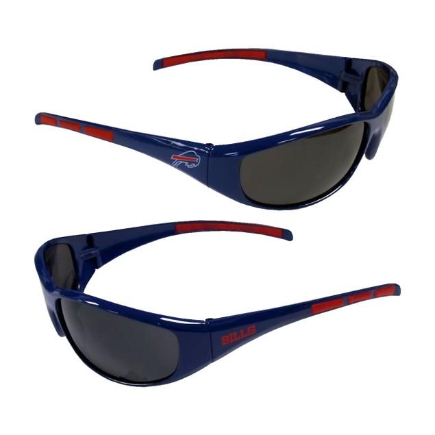 LA Los Angeles Chargers Sports Team Logo NFL Wrap 3 Dot Sunglasses