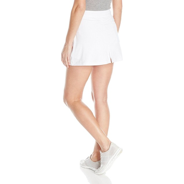Puma Golf 2017 Women's Solid Knit Skirt, Bright White, Large