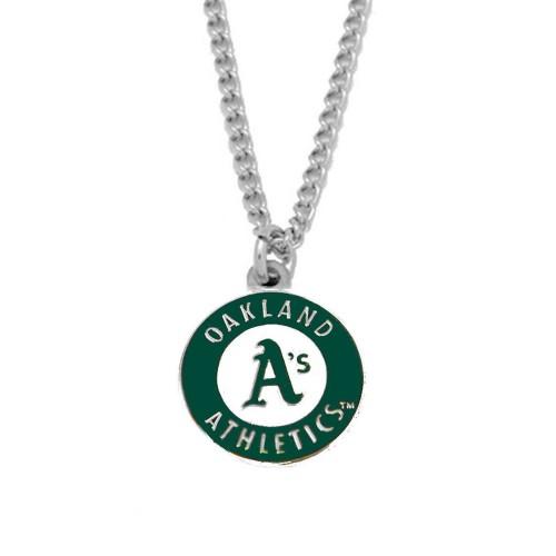 MLB Oakland A's Athletics Sports Team Logo Charm Pendant Necklace Gift