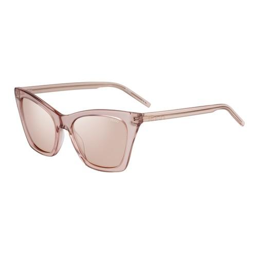 Hugo Women Sunglasses HG1055S FMW Nude 52 19 145 CAT EYE / BUTTERFLY Mirrored