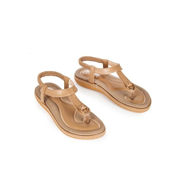 Haute Edition Women's Classic Bohemian Comfort Sandals