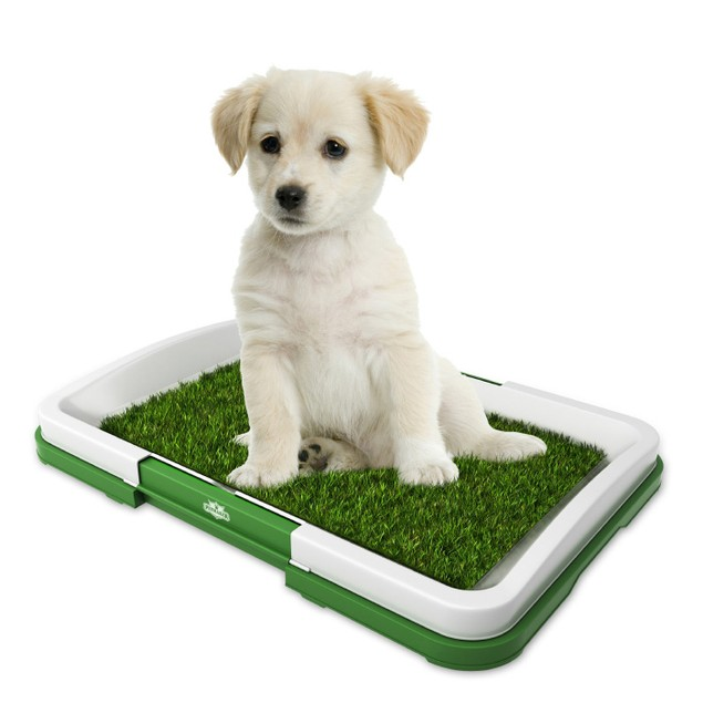 Artificial Grass Bathroom Mat for Puppies and Small Pets