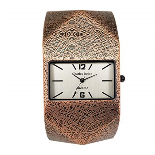 Charles Delon Women Watches 4580 LZCZ Rose Gold/Rose Gold Stainless Steel Quartz