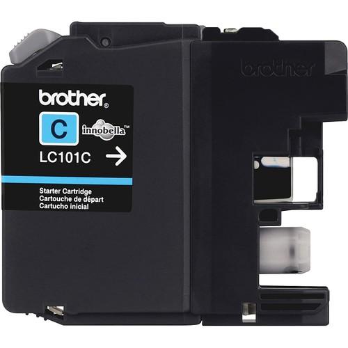 Brothers Brother Printer LC101C Cyan Ink Cartridge