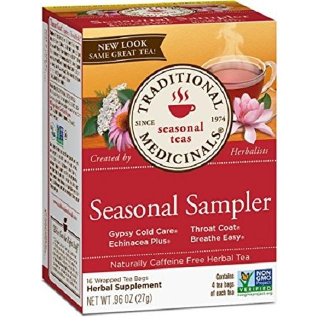 Traditional Medicinals Tea Seasonal Sampler
