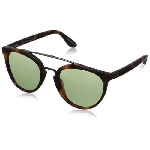 Revo Buzz Sunglasses Matte Tortoise, Grey Smoke