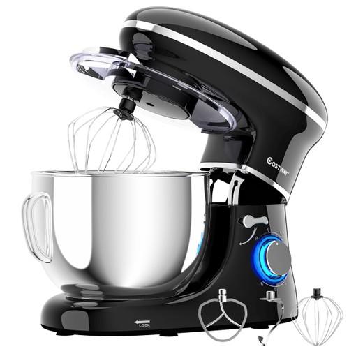 Costway Tilt-Head  6.3 Quart  6 Speed 660W Food Stand Mixer