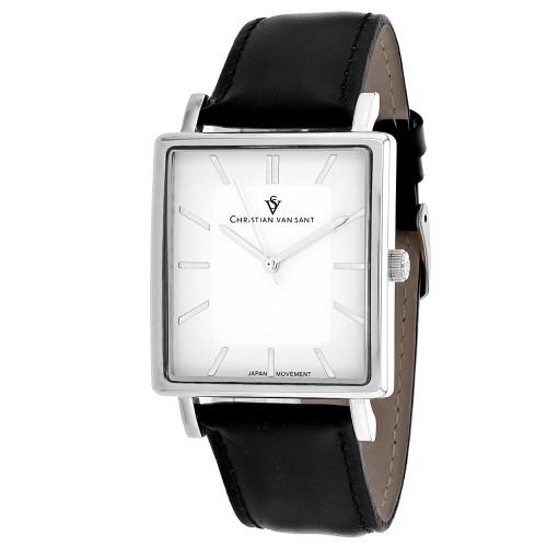 Christian Van Sant Men's Ace White Dial Watch - CV0430