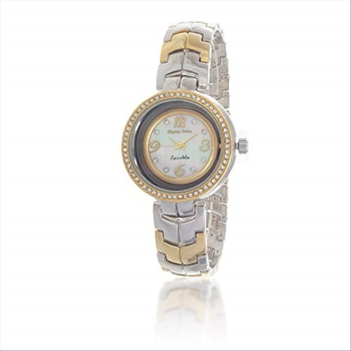 Charles Delon Women's Watches 5654 LTMW Silver/Gold/Silver/Gold Stainless Steel