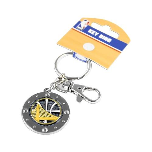 Golden State Warriors NBA Impact Metal Key Ring Keychain