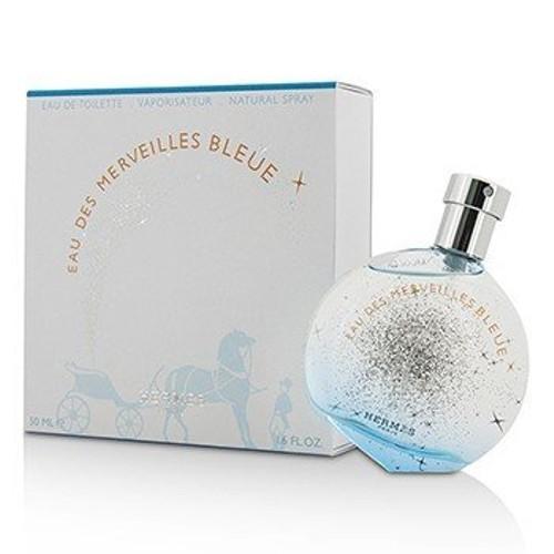 Hermes Eau Des Merveilles Bleue Eau De Toilette Spray