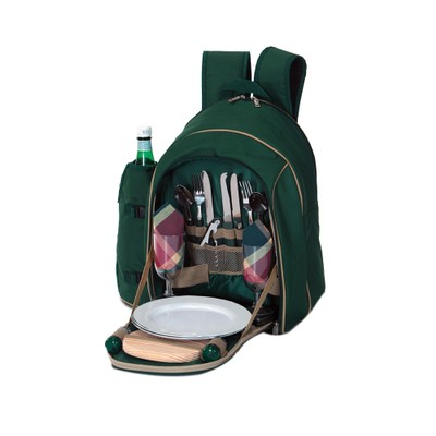 Picnic Plus Endeavor 2 Person Picnic Backpack Green