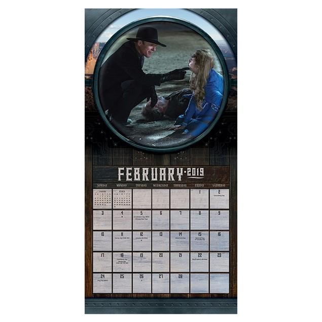 Westworld 16 Month 2019 Wall Calendar