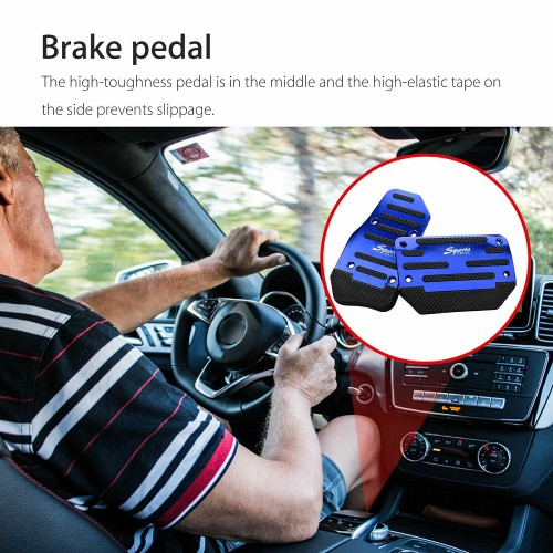 Automatic Transmission Car Modified Pedal-Blue