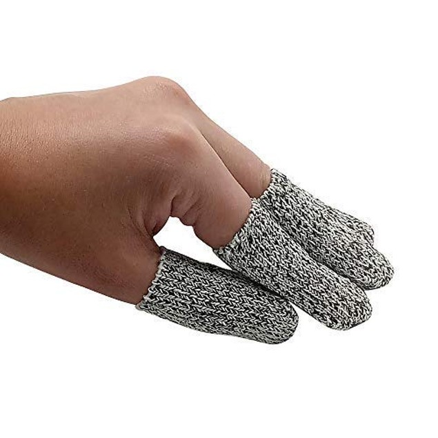 Finger Cots Cut Resistant Protection Glove HPPE Rated