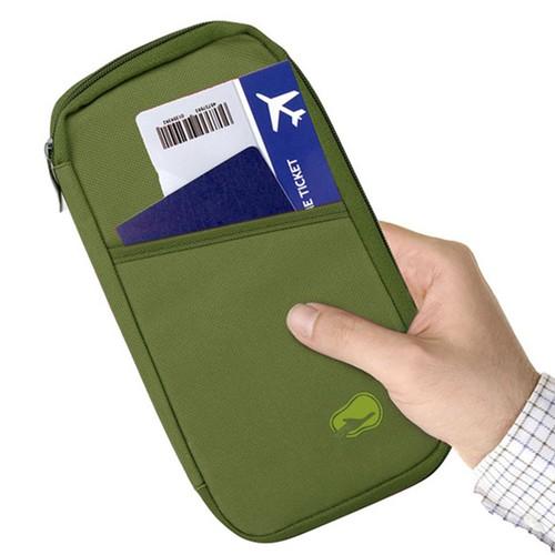 Travel Passport Wallet 12Cells Ticket ID Credit Card Holder