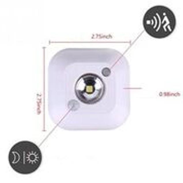 2-Pack Motion Light Detector