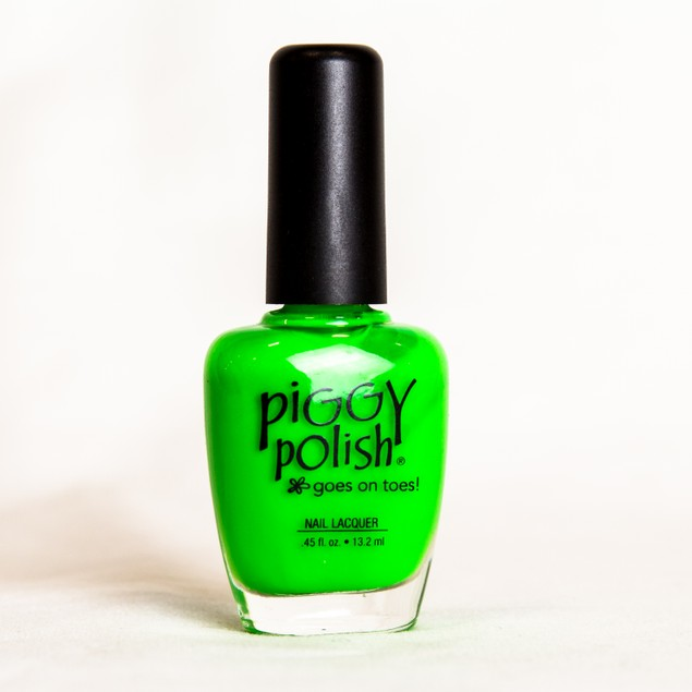 Piggy Polish Regatta Get This Color, Bright Green creme, .46 fl oz
