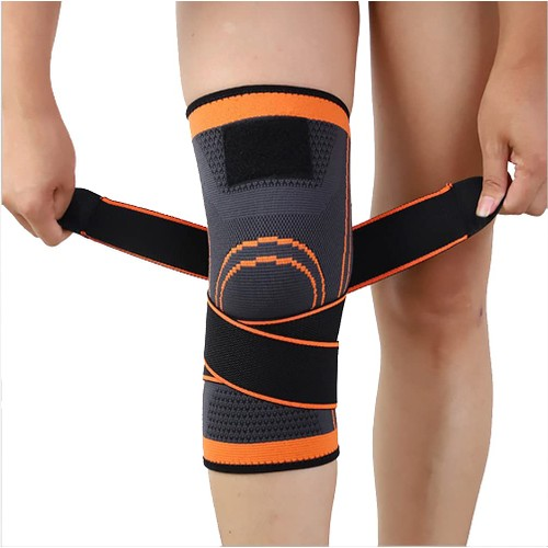 2 Pack Knee Brace Compression Support Sleeves Arthritis Joint Pain Relief
