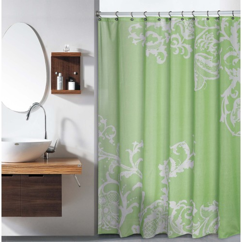 Isabella Large Floral Shower Curtain