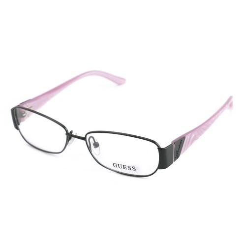 Guess Women  GU 2307 BLK Black/Pink 52 15 140 Full Rim Oval