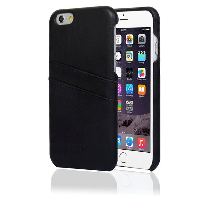 NAVOR Genuine Leather Retro Luxury Wallet Case for iPhone 6/6S Plus