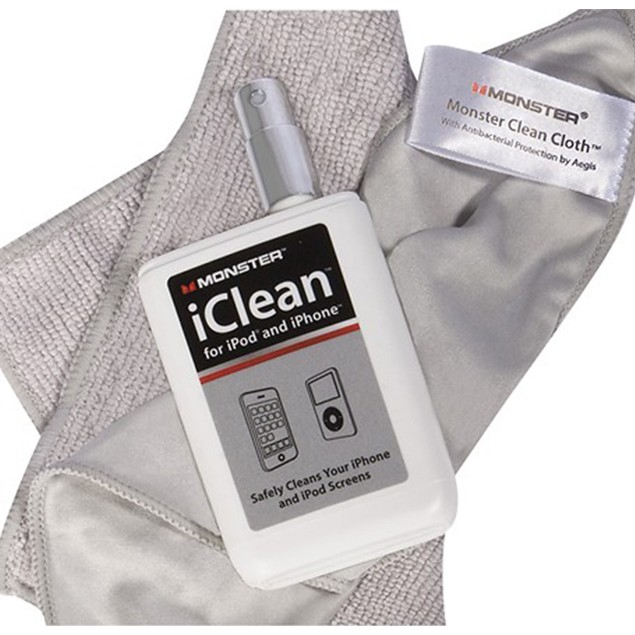 Monster iClean Screen Cleaner Kit for Mobile Devices, Monitors & TVs