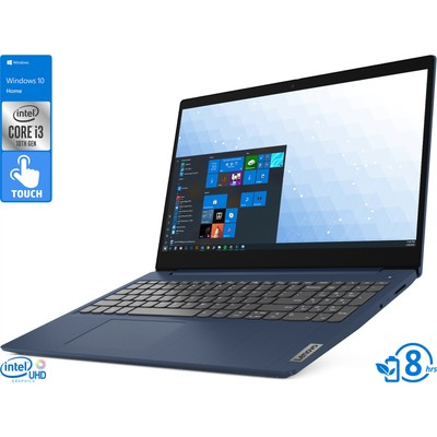 "Lenovo IdeaPad 3, 15"" Touch, i3-10110U, 8GB RAM, 256GB SSD, Win10 Home"