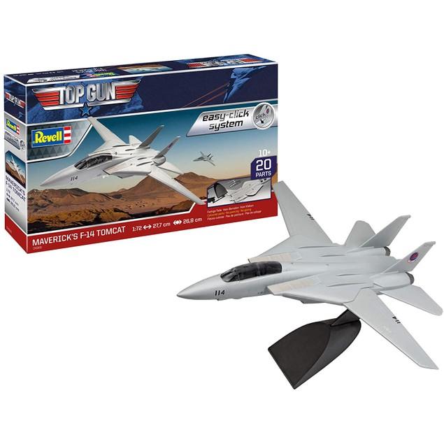 F-14 Tomcat Top Gun 1:72 Easy Click Revell Model Kit