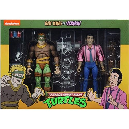 Rat King and Vernon (TMNT) 2 Pack Neca Action Figures