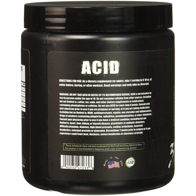 Dark Metal Acid, Aminos and Recovery, Mosh Pit Punch, 30 Servings