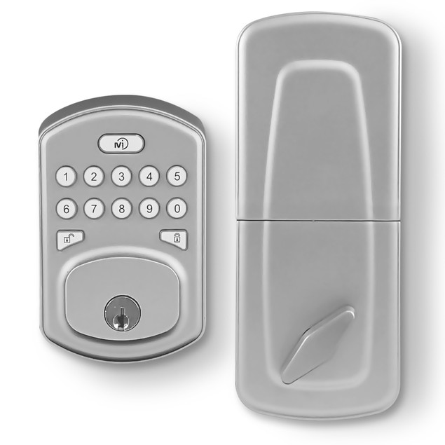 MiLocks Z-Wave Keyless Smart Door Lock w/ Backlit Keypad (Alexa Enabled)