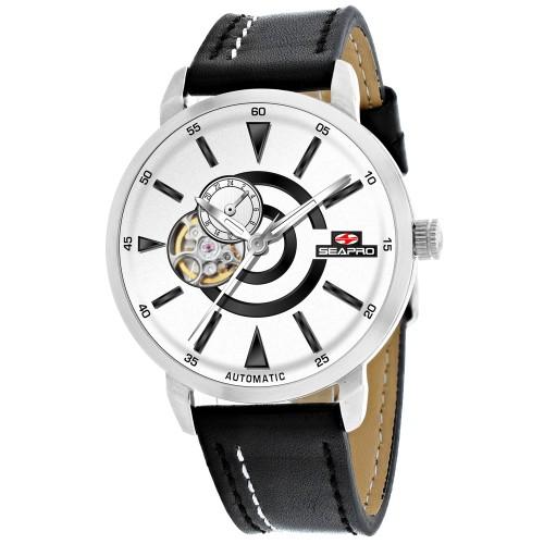 Seapro Men's Elliptic White Dial Watch - SP0141